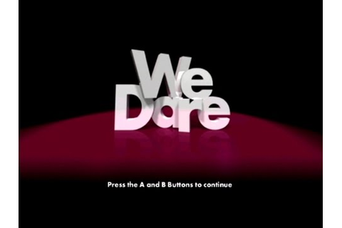 We Dare Wii Gameplay - YouTube