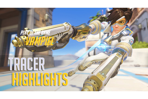 Overwatch - Tracer Highlights (Plays #1) - YouTube