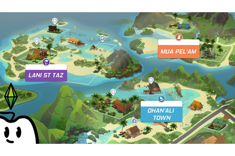 TEST – Les Sims 4 : Îles Paradisiaques – Try aGame