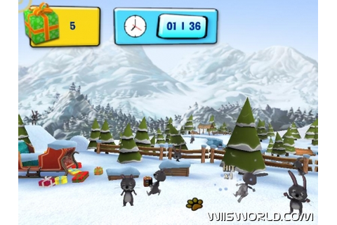Hubert the Teddy Bear: Winter Games on WiiWare