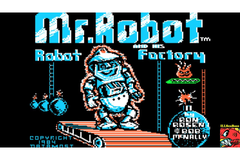 Mr. Robot and His Robot Factory APPLE II - 101,470 - YouTube