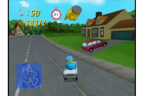 Simpsons Road Rage - Grandpa @ Evergreen Terrace - YouTube