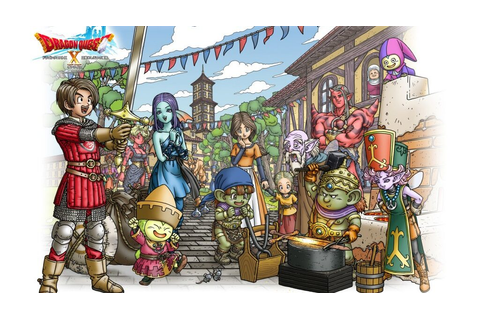 Niente cartuccia per Dragon Quest X! • Game Legends