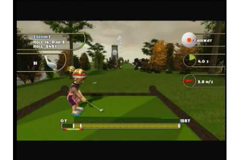 Xbox 360 XBLA Golf: Tee It Up - YouTube
