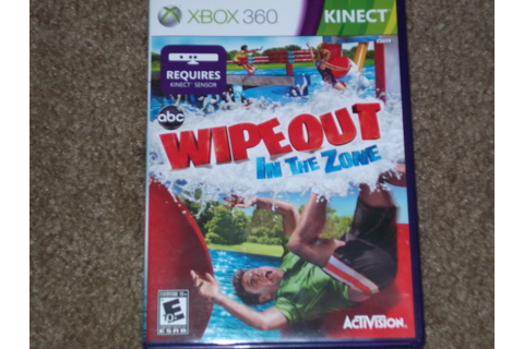Free: XBOX 360 GAME WIPEOUT IN THE ZONE KINECT - Video ...