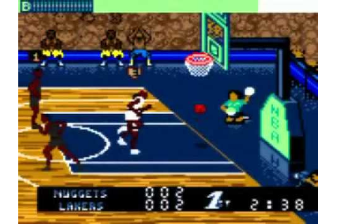 Game Boy Color NBA Jam '99 - YouTube