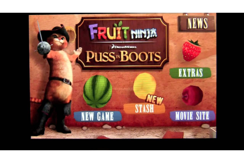Fruit Ninja: Puss in Boots iPhone App Review ...
