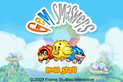 Gem Smashers (2003) by Frame Studios GBA game