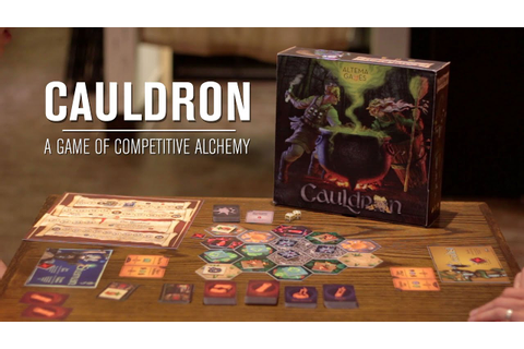 Cauldron: A Game of Competitive Alchemy - YouTube