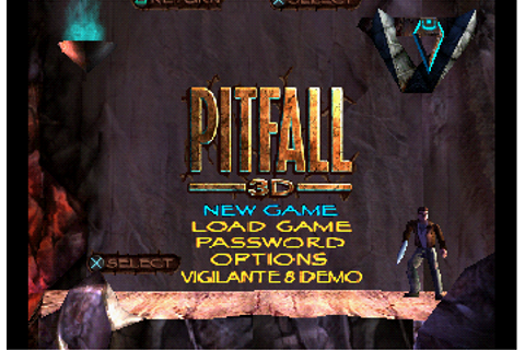 Pitfall 3D: Beyond the Jungle (PSX) Game - Playstation ...