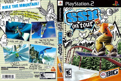 SSX On Tour (USA) ISO