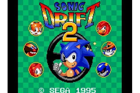 Game Gear Longplay [035] Sonic Drift 2 - YouTube