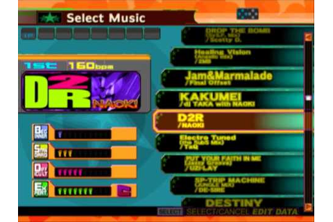 Dancing Stage Fever PS2 Song List - YouTube