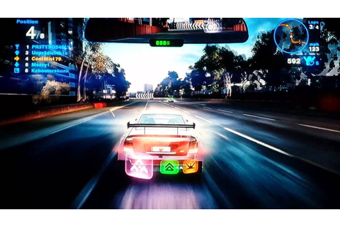Blur game play 4 xbox360 - YouTube