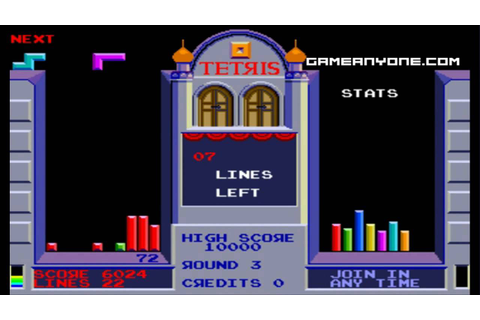 [WHC] Tetris [Atari] (Arcade) [HD] - Part 1 - YouTube