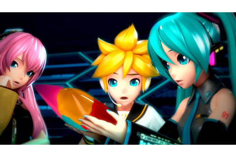 Hatsune Miku Project Diva F 2nd - Opening - YouTube