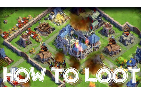 DomiNations Android/iOS Game BEST LOOT, RAID, ATTACK, ARMY BUILD ...