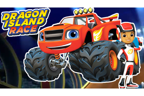 Blaze and The Monster Machines: Dragon Island Race Game ...
