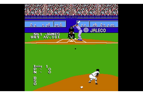 Play Bases Loaded II - Second Season (USA) • NES GamePhD