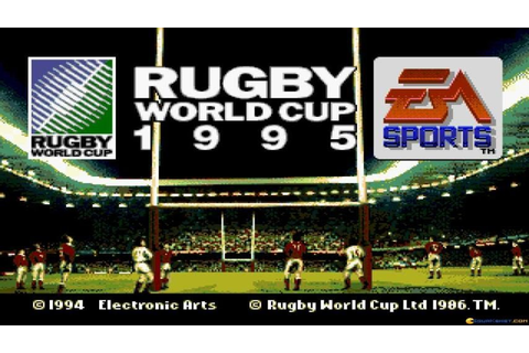 Rugby World Cup 95 gameplay (PC Game, 1994) - YouTube