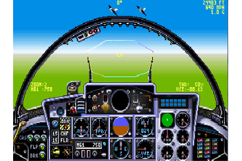 Download Chuck Yeagers Air Combat | Abandonia
