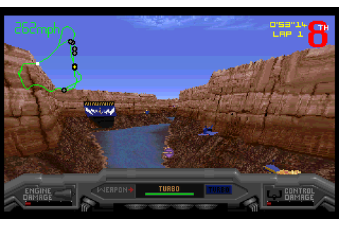 Slipstream 5000 (1995) by The Software Refinery MS-DOS game