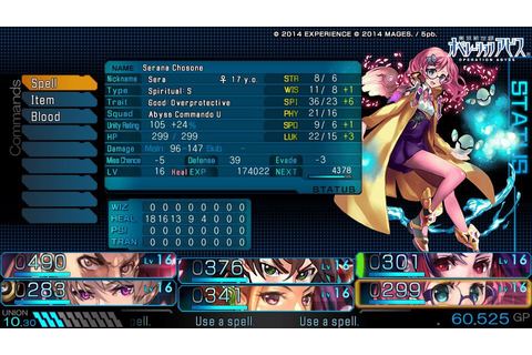 Operation Abyss: New Tokyo Legacy on Qwant Games
