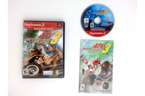 ATV Offroad Fury 3 game for Playstation 2 (Complete) | The ...