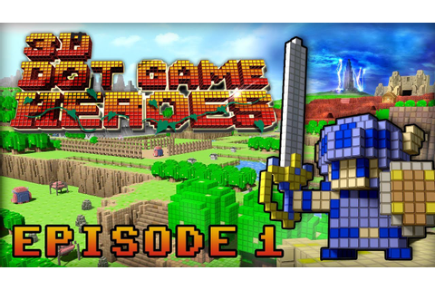 3D Dot Game Heroes | Episode 1 - Let's Play - YouTube