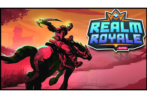 Realm Royale - Become A LEGEND In PALADINS BATTLE ROYALE ...
