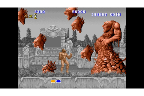 Altered Beast Arcade Gameplay Playthrough Longplay - YouTube