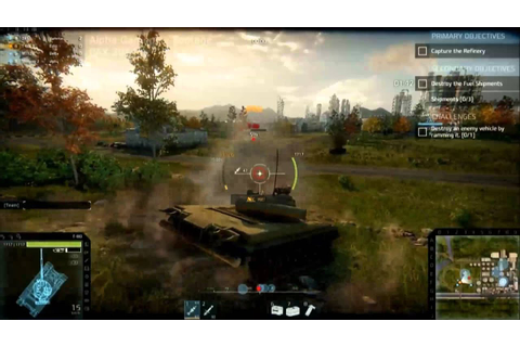 1080p Armored Warfare ALPHA Gameplay (Full Reveal) - YouTube