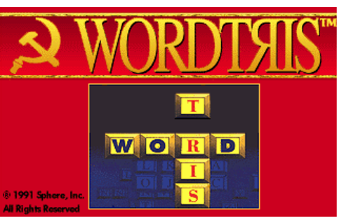 Download Wordtris - My Abandonware