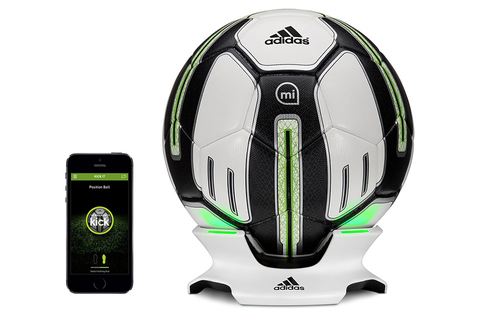 Adidas miCoach Smart Ball Adds Some Extra Kick To Your Game