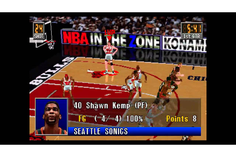 NBA In The Zone 2 ... (PS1) - YouTube