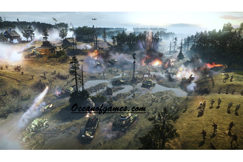 Company of Heroes 2 Free Download - Ocean Of Games