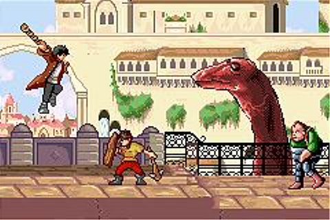 Screens: Dinotopia: The Timestone Pirates - GBA (1 of 8)