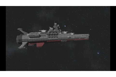 Space Engineers - Space Battleship Yamato tribute - YouTube