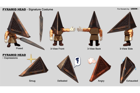 Track + Field- Pyramid Head by UdonCrew on DeviantArt