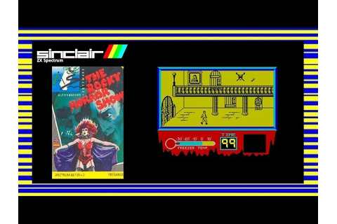 THE ROCKY HORROR SHOW - ZX Spectrum Game Review - YouTube