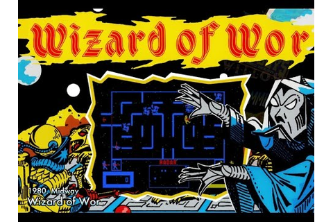 Wizard of Wor (Arcade, Atari 2600, 5200) Game Review by ...