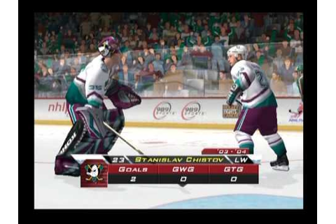 Gretzky NHL 2005 ... (PS2) - YouTube