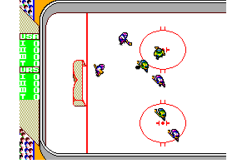 Play Great Ice Hockey Sega Master System online | Play ...