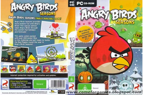 Angry Birds Seasons | Just Games For Gamers