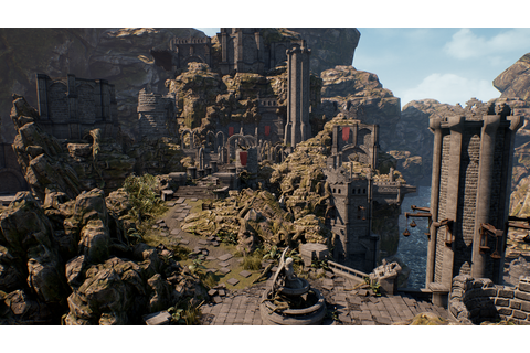 Infinity Blade: Grass Lands by Epic Games in Epic Showcase ...