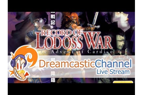 Record of Lodoss War (Dreamcast) | Live Playthrough Pt. 1 ...