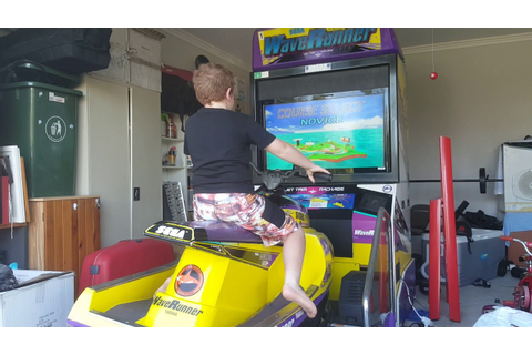 sega waverunner arcade game - YouTube