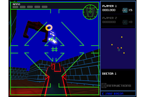 Space Paranoids Online Fully Playable Tron Viral Game is ...