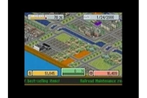 SimCity DS Nintendo DS Gameplay - Campaign - YouTube