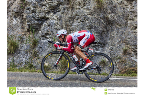 The Cyclist Yuri Trofimov Editorial Photo - Image: 35189156